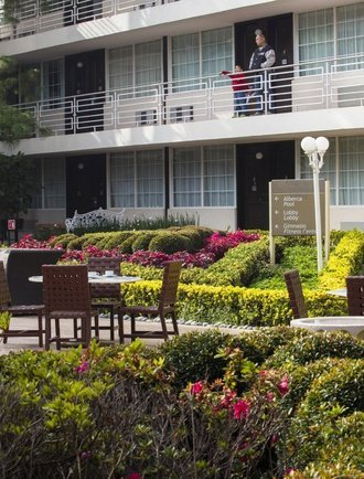 Jardim Hotel Krystal Satélite María Bárbara Tlalnepantla de Baz