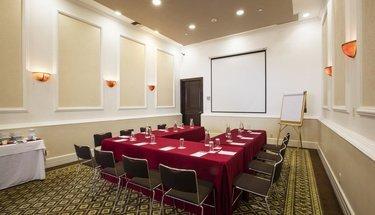 Sala de reuniões Hotel Krystal Satélite María Bárbara Tlalnepantla de Baz